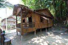 ?Rumah Bisaya? en la aldea cultural de Monsopiad Imagen de archivo