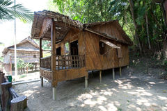 ' Rumah Bisaya'  at Monsopiad Cultural Village. '' Rumah Bisaya '',  at Monsopiad Cultural Village, Sabah being one of the typical types of traditional houses Stock Image