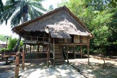 ' Rumah Lotud' ( Lotud House ),  at Monsopiad Cu Royalty Free Stock Images