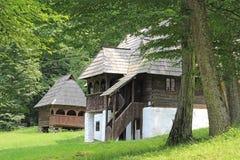 Rumania - casa tradicional Fotos de archivo libres de regalías