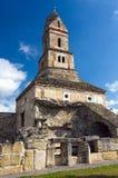 Rumania - iglesia de Densus Imagenes de archivo
