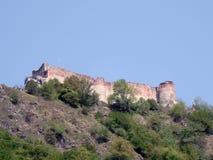 Rumania. Poenari Imagen de archivo libre de regalías