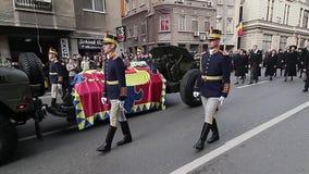Rumania - rey Mchael I - Funerral real