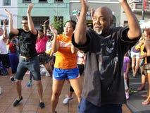 Rumba Dance Fitness Stock Photography