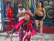 Rumba in Havana Cuba Royalty-vrije Stock Afbeelding