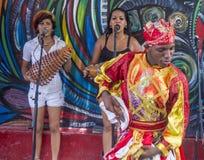 Rumba in Havana Cuba Stock Afbeeldingen