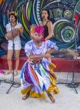 Rumba in Havana Cuba Royalty-vrije Stock Afbeeldingen