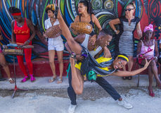 Rumba in Havana Cuba Royalty Free Stock Photos