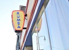 Rumba Latin Nigthclub and Restaurant Royalty Free Stock Photography