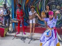 Rumba w Hawańskim Kuba fotografia stock