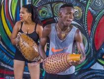 Rumba w Hawańskim Kuba zdjęcia stock