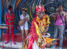 Rumba w Hawańskim Kuba zdjęcie stock