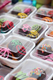 Rumballs with decorations Royalty Free Stock Photo