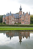 Κάστρο Rumbeke αναγέννησης στοκ εικόνες
