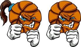Rumble di pallacanestro Immagine Stock