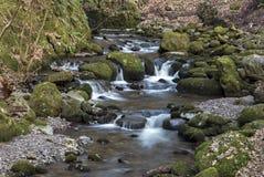 Rumbling River rocks, Stock Image