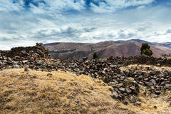 сrumbling wall of the Incas Royalty Free Stock Photography
