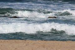 Rumbling waves Stock Photos
