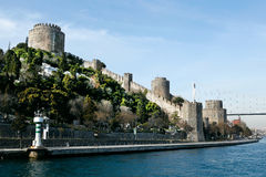 Rumeli Castle Stock Photography