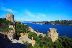 Free Rumeli Castle Royalty Free Stock Image - 23691076