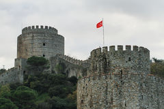 Rumeli Castle Royalty Free Stock Images