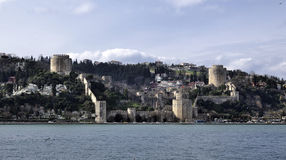 Rumeli castle, istanbul Stock Photo