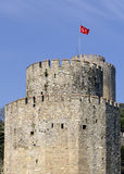 Rumeli castle, istanbul Royalty Free Stock Photo