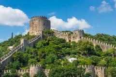 Rumeli fästning royaltyfri bild