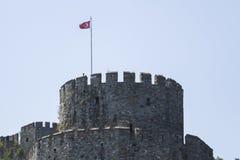 Rumeli fästning, Istanbul kanal, Istanbul Turkiet royaltyfri foto