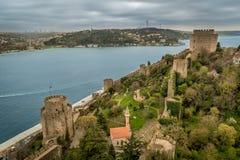 Rumeli Festung, Istanbul, die Türkei lizenzfreie stockfotografie