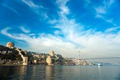 Rumeli Festung, Istanbul, die Türkei. Lizenzfreies Stockfoto
