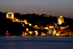 Rumeli Fortress Royalty Free Stock Photography