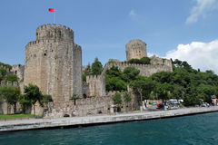 Rumeli fortress Royalty Free Stock Image