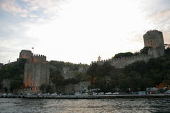 Rumeli Fortress Royalty Free Stock Photos