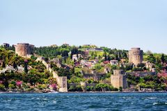 Rumeli Fortress, Istanbul Stock Photo