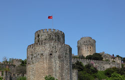 Rumeli Fortress, Istanbul Royalty Free Stock Photography