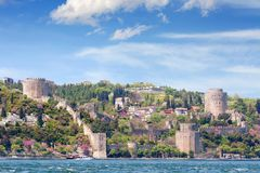 Rumeli Fortress, Istanbul Stock Images