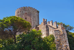 Rumeli Fortress at Istanbul Turkey Stock Photo