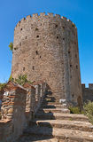 Rumeli Fortress at Istanbul Turkey Royalty Free Stock Photos