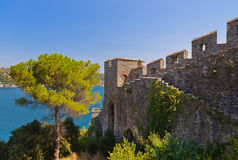 Rumeli Fortress at Istanbul Turkey Stock Photography