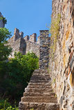 Rumeli Fortress at Istanbul Turkey Royalty Free Stock Photography