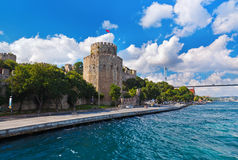 Rumeli Fortress at Istanbul Turkey Stock Image