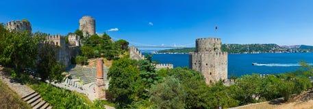 Rumeli Fortress at Istanbul Turkey Royalty Free Stock Photo