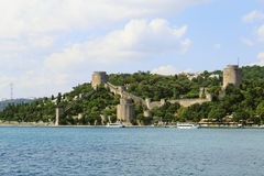 Rumeli Fortress, Istanbul, Turkey. Stock Photos