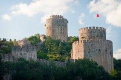 Rumeli Fortress (Rumelihisari). Istanbul Stock Photography