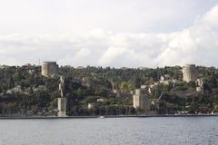 Rumeli Fortress Stock Image