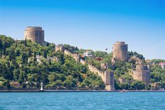 Rumeli Fortress Stock Photo