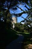Rumeli Hisar castle, Istanbul, Turkey royalty free stock photography