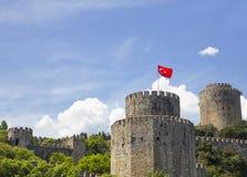 Rumeli Hisari (Castle of Europe) by the Bosphorus Strait Stock Photography