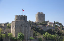 Rumeli Hisari fortress Royalty Free Stock Images